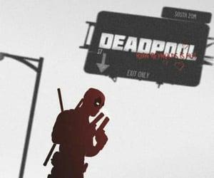 deadpool, guns, and Marvel image