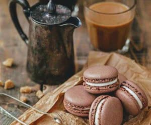 coffee, cooking, and ‎macarons image