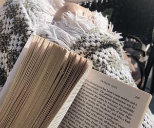 book, cozy, and lifestyle image