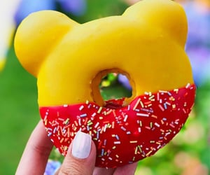 delicious, disney, and doughnut image