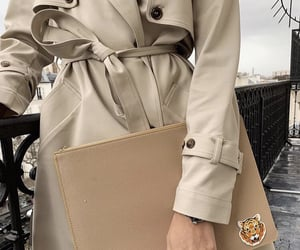 autumn, bag, and beige image