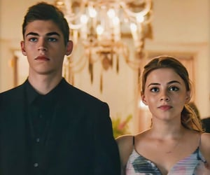 tessa young, hardin scott, and after movie image