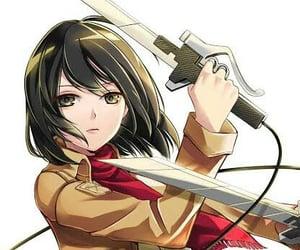 anime, manga, and mikasa image