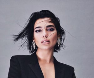 beauty, singer, and dua lipa image