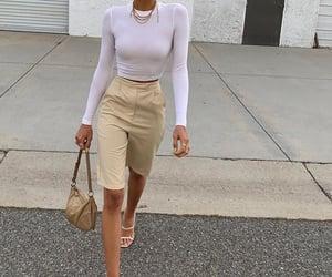 bag, girl, and model image