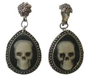 fashion, jewelry, and skull image