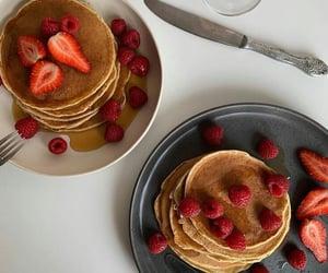 desserts, food, and fraises image