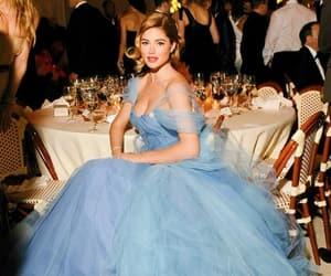 beautiful dress, beautiful woman, and beauty image