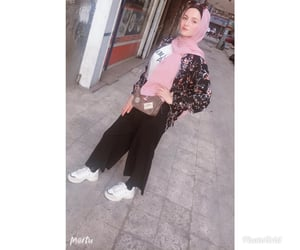 fashion, hijab, and model image