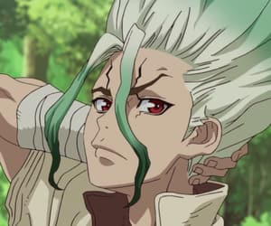 anime, science, and ishigami senku image