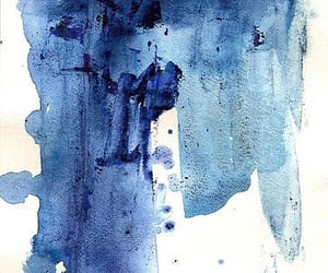 abstract, dark blue, and paintings image
