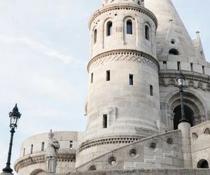 blue, castle, and cinderella image