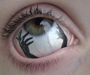 eye, eyes, and grunge image