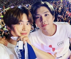 exo, johnny, and kpop image