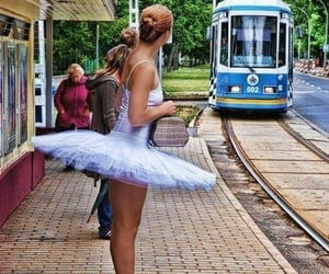 ballerina, theatre, and waiting image