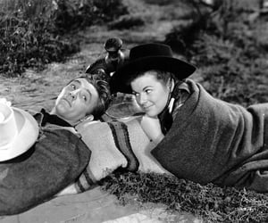40's, Robert Mitchum, and barbara hale image