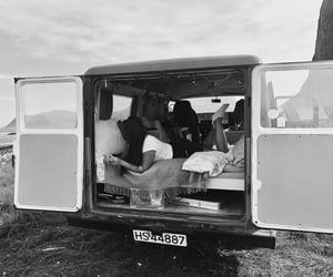 blackandwhite, lofoten, and camping image