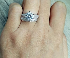 etsy, engagement ring, and engagementring image