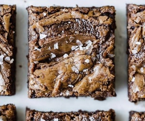brownies, yummy, and s'mores image