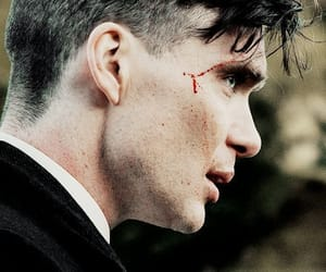 peaky blinders, cillian murphy, and thomas shelby image