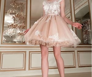 party dress, short dresses, and Prom image