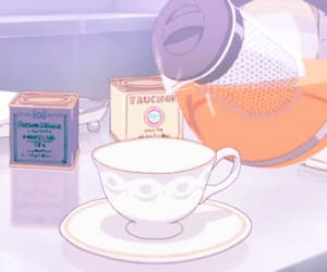 aesthetic, anime, and food image