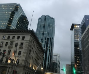 aesthetic, rainy, and buildings image