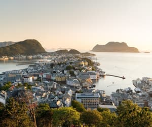 city, cityscape, and norway image