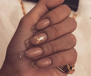 gold, nails, and Y image