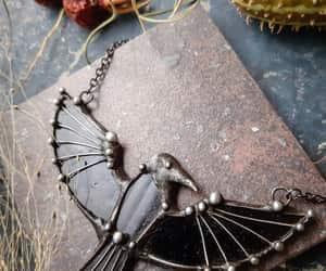 bird necklace, fairytalegifts, and etsy image