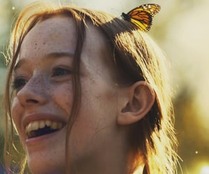 aesthetic, butterfly, and freckles image