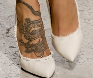 tattoo, fashion, and heels image