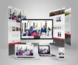 technology, web development, and website developer image