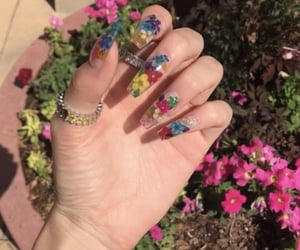 bright, colorful, and nails image