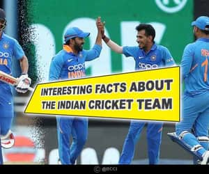 cricket, sports, and indian cricket team facts image