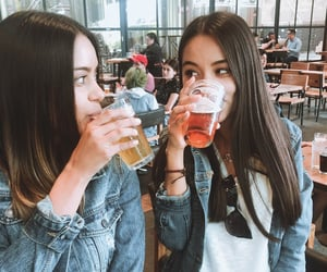 beer, drink, and smile image