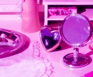 pink, aesthetic, and vintage image
