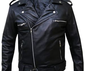 black, casual jacket, and clothes image
