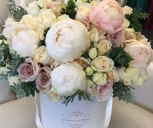 Blanc, bouquet, and Fleurs image