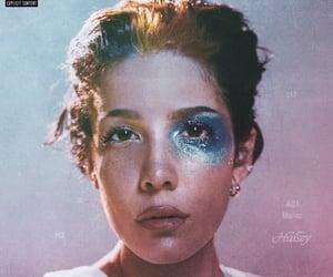 halsey, album, and manic image
