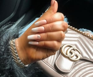nails, chanel, and gucci image