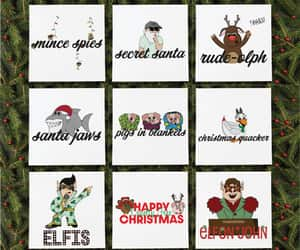 cards, greeting cards, and funny christmas card image