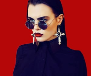 cross, sunglasses, and dolce image
