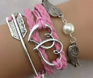 cupid, pink, and cupid jewelry image