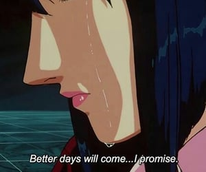 aesthetic, anime, and better days image