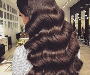 hair and waves image