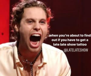 new, the late late show, and luke hemmings image