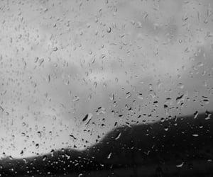 photographer, rain, and raindrops image