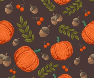 fall, pattern, and wallpaper image