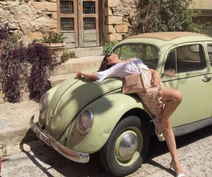 car, fashion, and green image